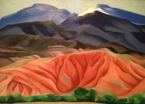The Georgia O'Keeffe Museum is a must-see stop on any trip to Santa Fe.