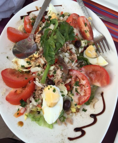 A real Nicoise salad
