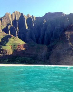 The spectacular Na Pali Coast - classic Kauai!
