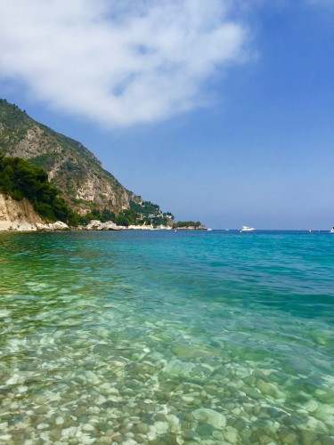 Perfect place for a swim in Eze